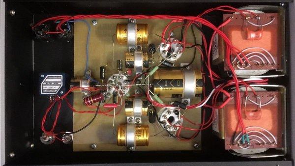 Топовый двухблочный усилитель для наушников Arkhipov's Laboratory ULTRA DUAL OCTAL с обновленной комплектацией