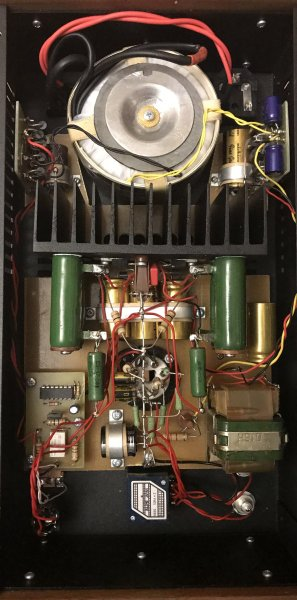 Arkhipov's Laboratory Melo Lx с форсированным режимом для низкоомных наушников (вид изнутри)