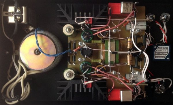Arkhipov's Laboratory ALTERNATIVE Lx (вид изнутри)