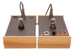Arkhipov's Laboratory DAC 63 DUAL USB  (модификация с USB Bolero и ламповым клоком, AES/EBU и 3 парами выходных разъемов)