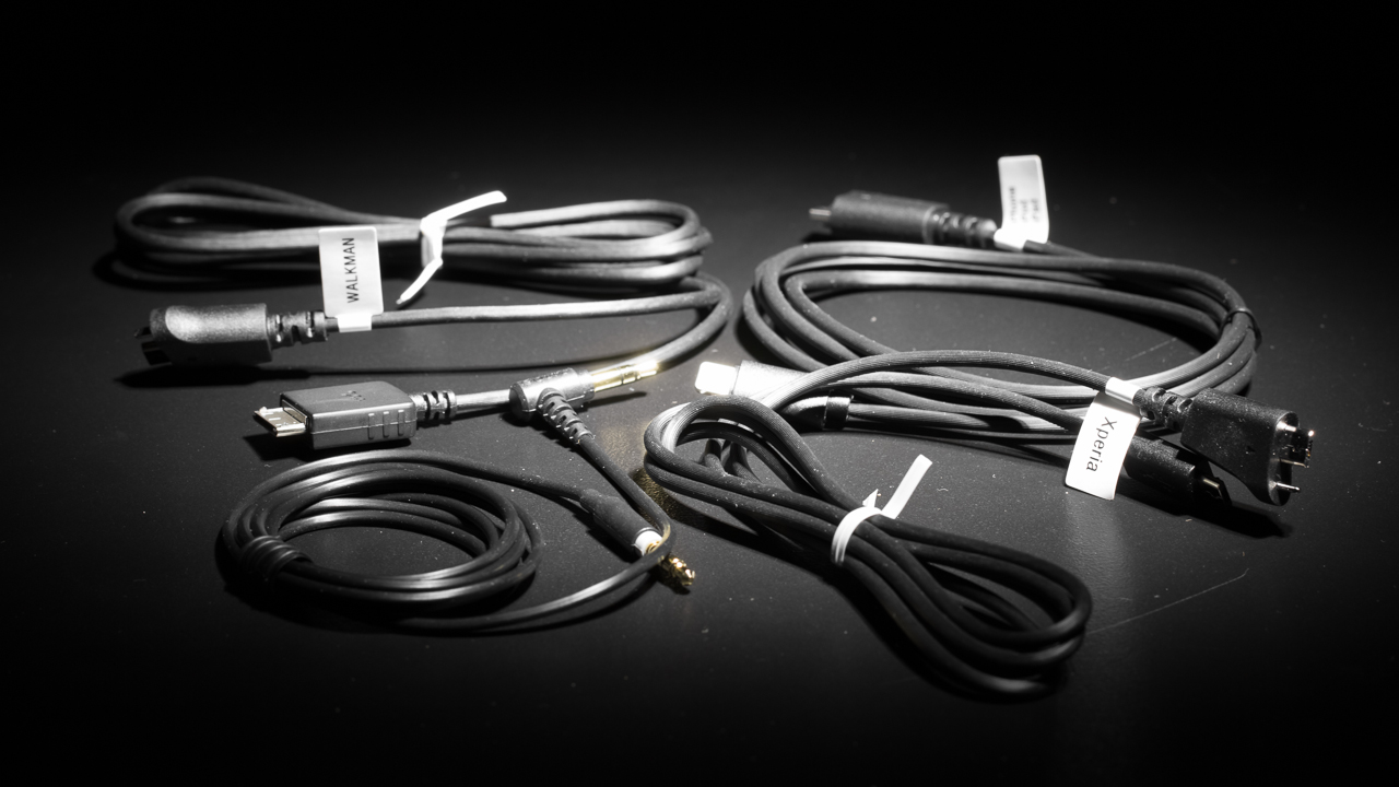 Sony MDR-1ADAC cables